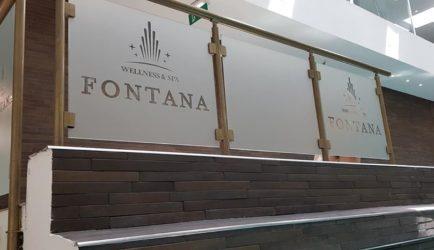 Aluminijumske staklene ograde i alu gelenderi – Hotel Fontana Vrnjačka Banja
